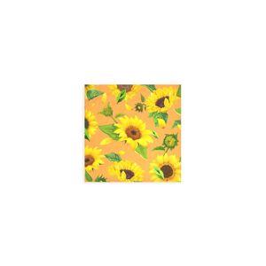 VIDA Wood Wall Art - 12x12 - New Sunflower 6 by VIDA Original Artist  - Size: Small