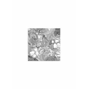 VIDA Wood Wall Art - 12x12 - Watercolor Roses 6 in Black/White by VIDA Original Artist  - Size: Small