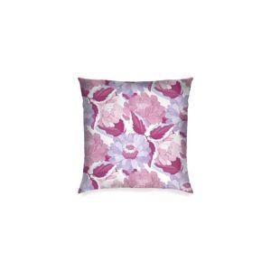 "VIDA Square Pillow - Marron Violet Burgundy Ga by VIDA Original Artist  - Size: Luster / 16"" / Single"