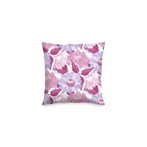 "VIDA Square Pillow - Marron Violet Burgundy Ga by VIDA Original Artist  - Size: Matte / 16"" / Single"