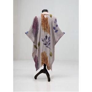 VIDA Sheer Wrap - Wild Feathers by VIDA Original Artist  - Size: Plus