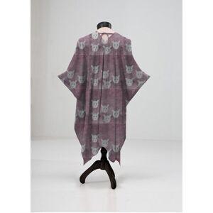 VIDA Sheer Wrap - Wild Stare in Purple by VIDA Original Artist  - Size: Plus