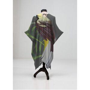 VIDA Sheer Wrap - Wild Bird by VIDA Original Artist  - Size: Petite