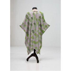 VIDA Sheer Wrap - Watercolor Drop Sap Green in Green/White/Yellow by VIDA Original Artist  - Size: Petite