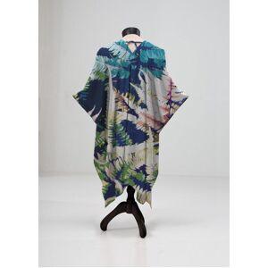 VIDA Sheer Wrap - Wild Jungle in Blue/Green/Purple by VIDA Original Artist  - Size: Plus
