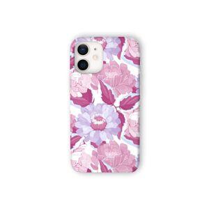 VIDA iPhone Case - Marron Violet Burgundy Ga by VIDA Original Artist  - Size: iPhone 12 Mini / Ultraslim