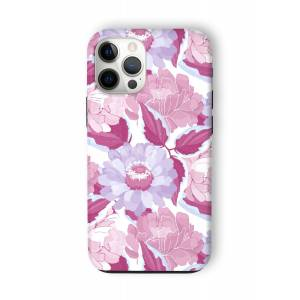 VIDA iPhone Case - Marron Violet Burgundy Ga by VIDA Original Artist  - Size: iPhone 12 Pro Max / Tough