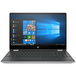 HP Pavilion x360 Convertible Laptop - 15t-dq200 Touch Screen Intel Core i5 11th Gen Intel Iris Xe Graphics 8 GB DDR4 Windows 10 Pro 64 9ZF94AV_100077 - Natural Silver