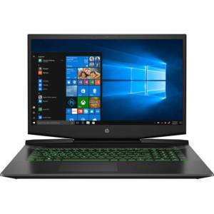 HP Pavilion Gaming Laptop - 17t-cd100 Intel Core i7 10th Gen NVIDIA GeForce GTX 1660 Ti with Max-Q design 12 GB DDR4 Windows 10 Home 64 8WW21AV_100060 - Acid Green