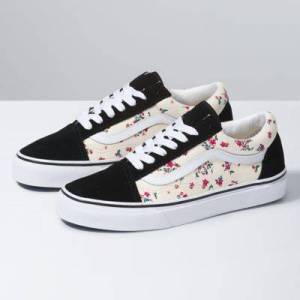 Vans Ditsy Floral Old Skool (Classic White/True White)  - Size: 8