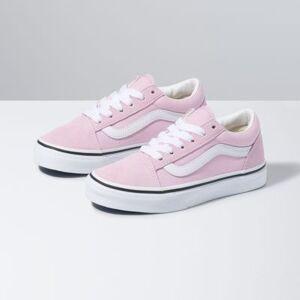 Vans Kids Old Skool (Lilac Snow/True White)  - Size: 13.5 Kids