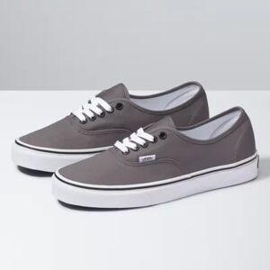 Vans Authentic (Pewter/Black)  - Size: 16.5