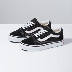 Vans Kids Old Skool (Black/trw)  - Size: 10.5 Kids