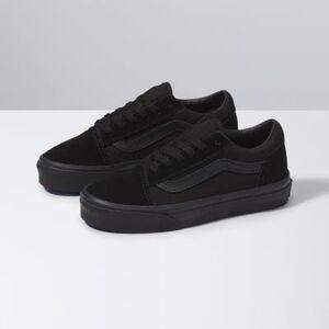 Vans Kids Old Skool (black/black)  - Size: 11.5 Kids