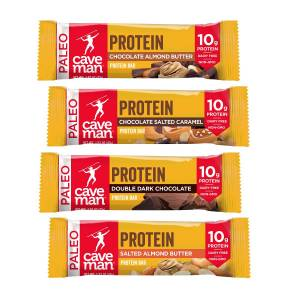 CavemanFoods Variety Pack - Protein Bars (24 Count)