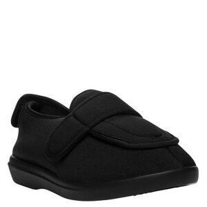 Propet Cronus - Womens 6.5 Black Slipper W2