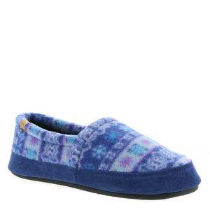 Acorn Moc - Womens S Blue Slipper Medium