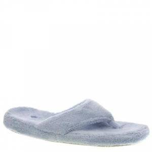 Acorn New Spa Thong - Womens S Blue Slipper Medium