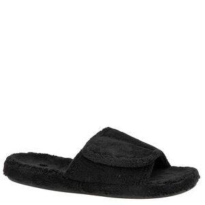 Acorn Spa Slide - Mens M Black Slipper Medium