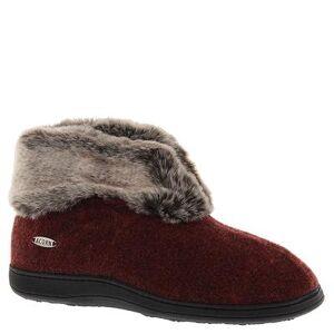 Acorn Women's Chinchilla Bootie II - S Red Slipper Medium