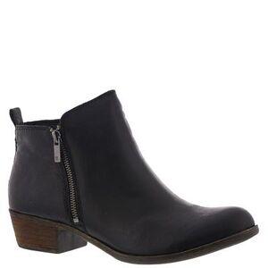Lucky Brand Basel - Womens 10 Black Boot Medium