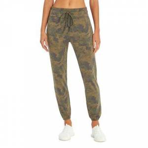 Balance Collection Women's Active Pants OLIVE - 27'' Olive Grove Camo Weekender Pocket Joggers - Women