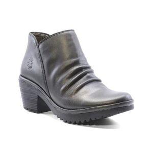 FLY London Women's Casual boots 002 - Bronze Wezo Leather Bootie - Women