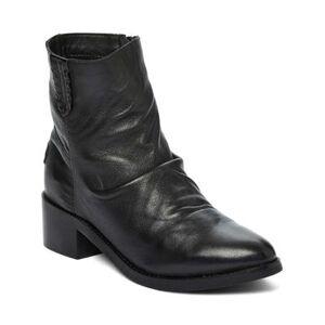 Musse & Cloud Women's Casual boots NBK - Black Nido Leather Boot - Women