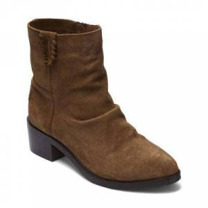 Musse & Cloud Women's Casual boots CUE - Brown Nido Suede Boot - Women
