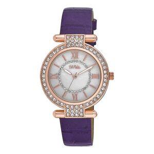 Bob Mackie Watches - Purple Rhinestone T-Bar Watch