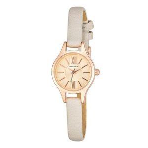 Laura Ashley Women's Watches - Rose Goldtone Petite Case Strap Watch