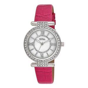 Bob Mackie Watches - Pink Rhinestone T-Bar Watch