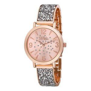 Bob Mackie Watches - Rose Goldtone Rhinestone Glitz Watch