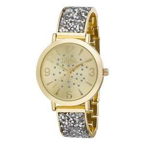 Bob Mackie Watches - Goldtone Rhinestone Glitz Watch