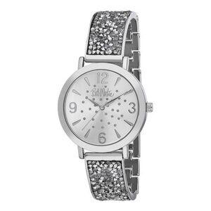 Bob Mackie Watches - Silvertone Rhinestone Glitz Watch