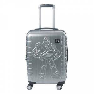 ful Boys' Luggage SILVER - Toy Story 4 Silver 21'' Buzz Lightyear Expandable Spinner Carry-On