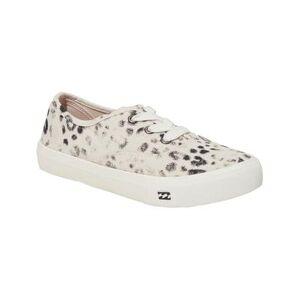 Billabong Women's Sneakers GREY - Gray Leopard Seascape Daze Sneaker - Women