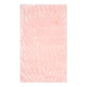 Safavieh Rugs Indoor Rugs PINK - Pink Mischa Faux Sheepskin Rug