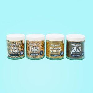 Barnacle Foods - Kelp Seasonings Sampler - 4 Pack