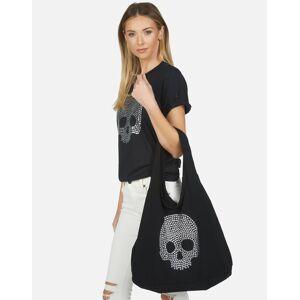 Lauren Moshi Taylor Nailhead Skull - Black OS