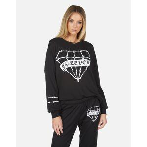 Lauren Moshi Sierra Bone Diamond - Black XS