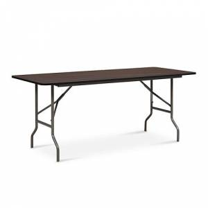 "NBF Signature Series Valuemax Laminate Folding Table 72""W x 30""D"