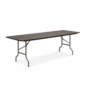 "NBF Signature Series Valuemax Laminate Folding Table 96""W x 30""D"