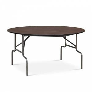 "NBF Signature Series Valuemax Round Folding Table 60"" Diameter"
