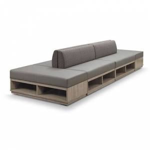 NBF Signature Series Encounter Six Piece Loveseat and Bench Set