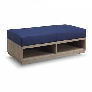 NBF Signature Series Encounter Double Seat Storage Bench