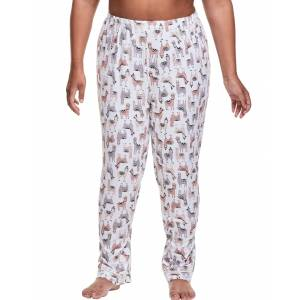 Just My Size Plus Sleep Pant Llama 3X Women's