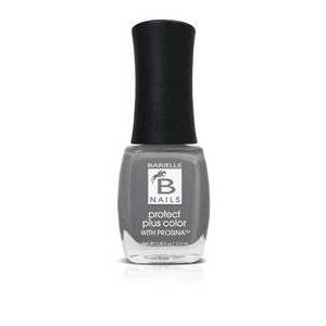 Barielle Feathered Slippers (A Creamy Pure Grey) - Protect+ Nail Color w/ Prosina
