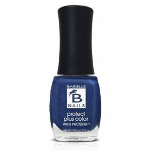 Barielle Slate of Affairs (A Worn Denim) - Protect+ Nail Color w/ Prosina