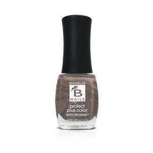 Barielle Iced Cinnamon (A Rich Metallic Brown) - Protect+ Nail Color w/ Prosina